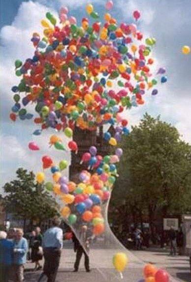 выброс шаров
